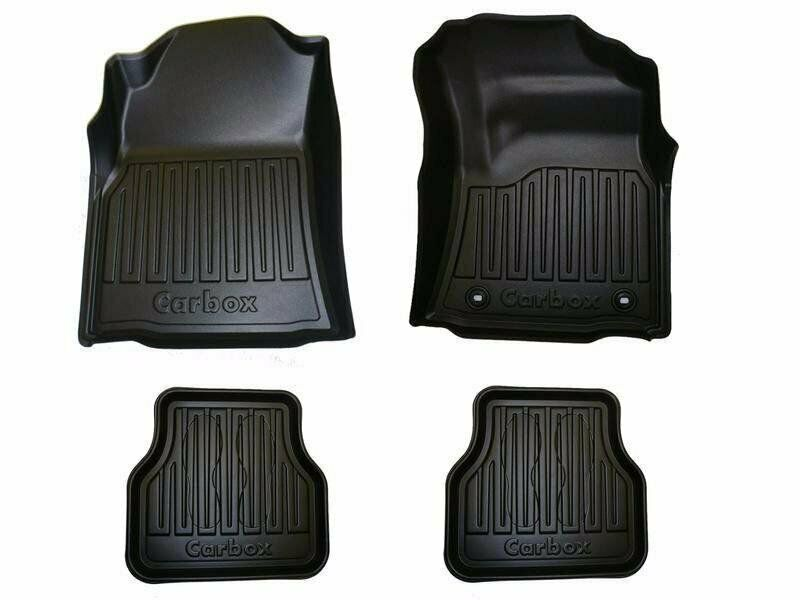 Ford Ranger Double Cab Carbox Floor mats 2016 -