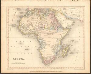 1840 Ca Antique Map Africa Ebay