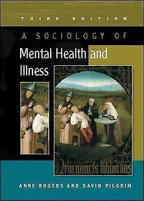 A Sociology of Mental Health and Illness-ExLibrary