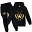 UK Kids Golden logo Chad Wild Clay CWC Hoodies tracksuit Pullover Pant 5-12y 256