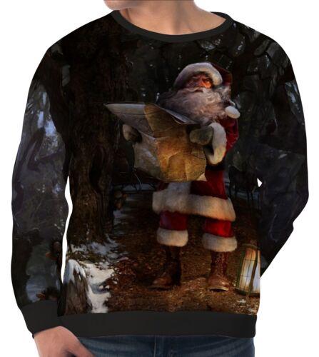 Weihnachtsmann Herren Sweatshirt Sweater Pullover wa5 aam40881