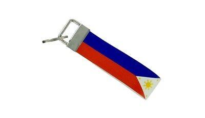 Schlüsselanhänger Schlüssel Auto Moto Band Stoff Flagge Haus Tuning Philippinen