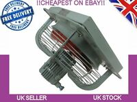 Commercial Ventilation Exhaust Extractor Fan Metal Axial Air Blower 400mm