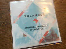 Solander ‎- Monochromatic Memories  [CD Album] PROM0  2014 / 10 Tracks