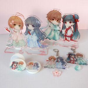 Acrylic Stand Figure Anime Gifts Card Captor Sakura LI SYAORAN Desk Decoration