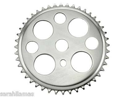 Lucky 7 Sprocket 44t 1//2 X 1//8 Chrome  bicycle  Sprocket  137808