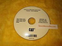 Sebp3825 Cat Caterpillar D3g Xl D3g Lgp Track Type Tractor Parts Manual Book Cd