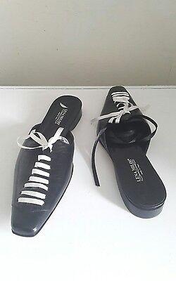 Zapatos De Cuero Leño Milos Talla 5