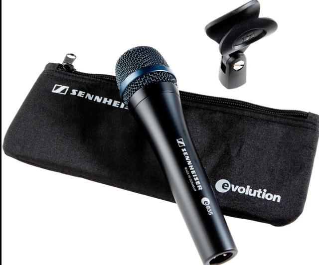 Like N E W Sennheiser e935 Dynamic Cardioid Vocal Mic Dealer Open Box Never Used