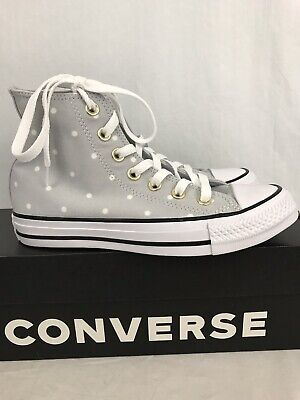 db41459891f8 Converse Women s Chuck Taylor All Star High Top Shoes Polka Dots US Size 5  New