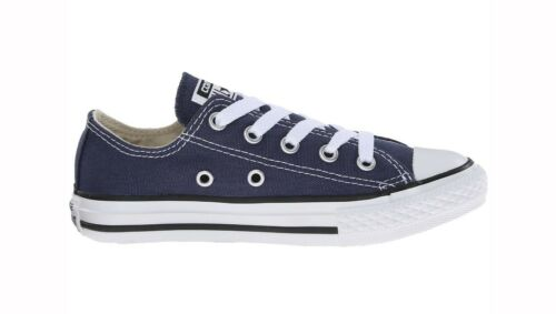 CONVERSE All Star Low Chuck Taylor Youth Girls Boys Navy Blue Sneakers Shoes