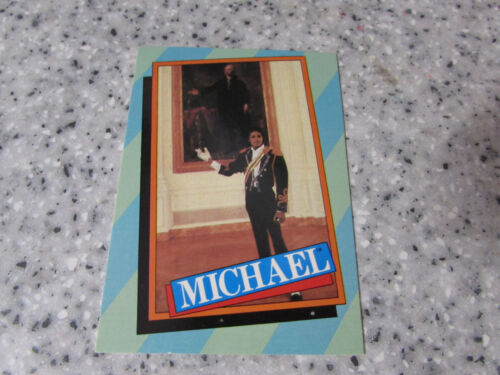 1984 TOPPS MJJ PRODUCTIONS INC MICHAEL JACKSON TRADING CARDS