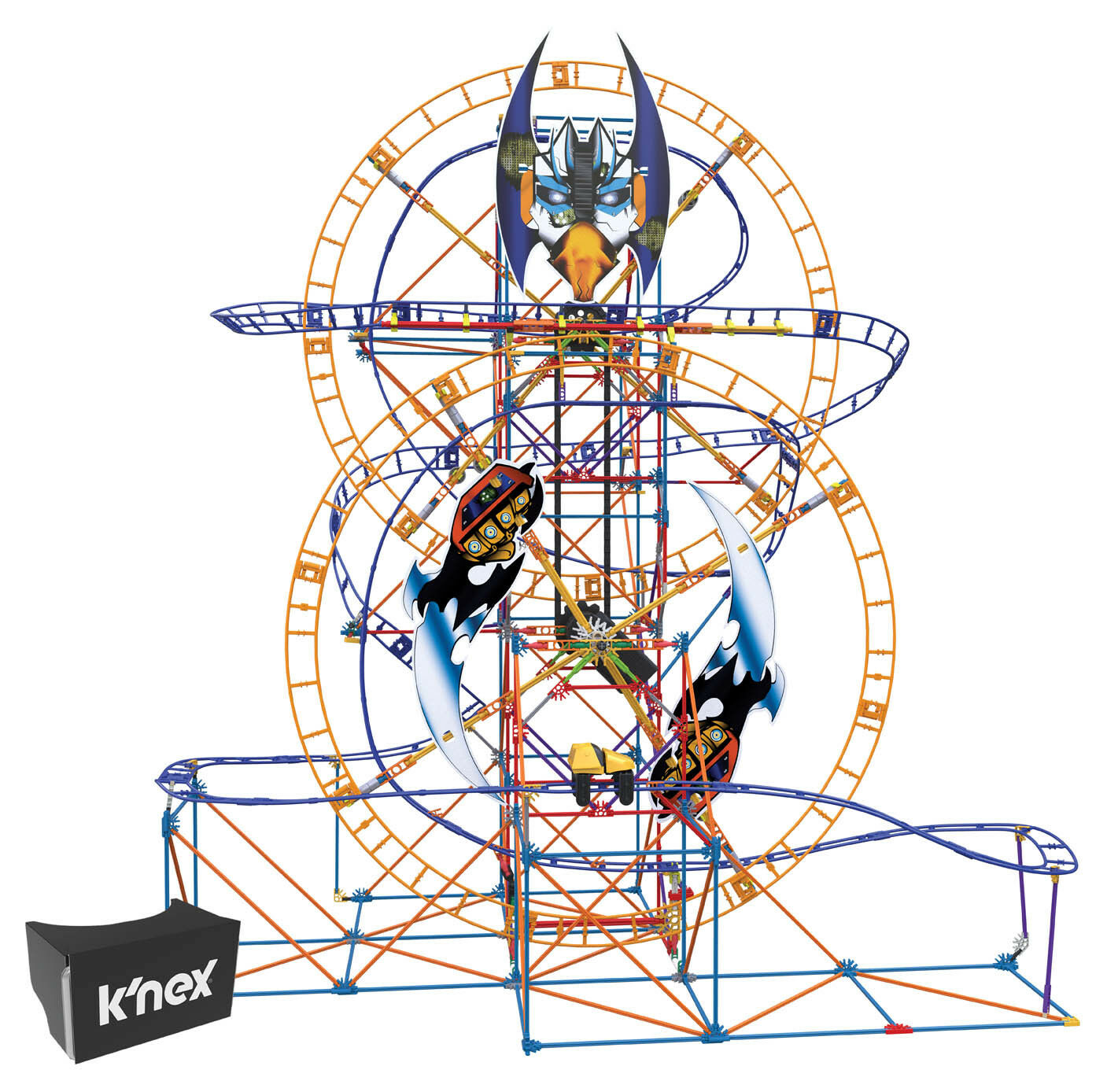 K`NEX Bionic Blast Roller Coaster Building Set Construction Build And Play Toy