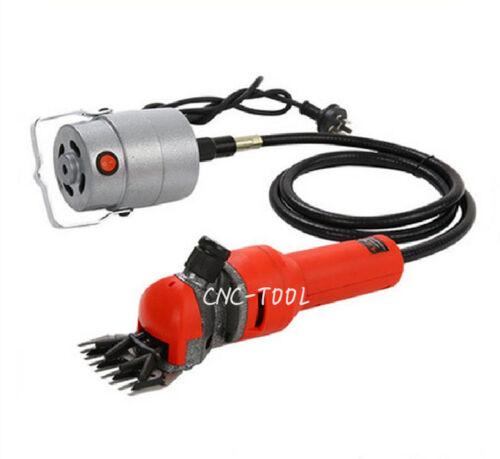 750W Flexible Shaft Electric Sheep Goat Shears Cutter Shearing Clipper 220V