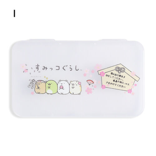 to Carry Container Face Holder Face Mask Boxes Mask Storage Case Storage Box