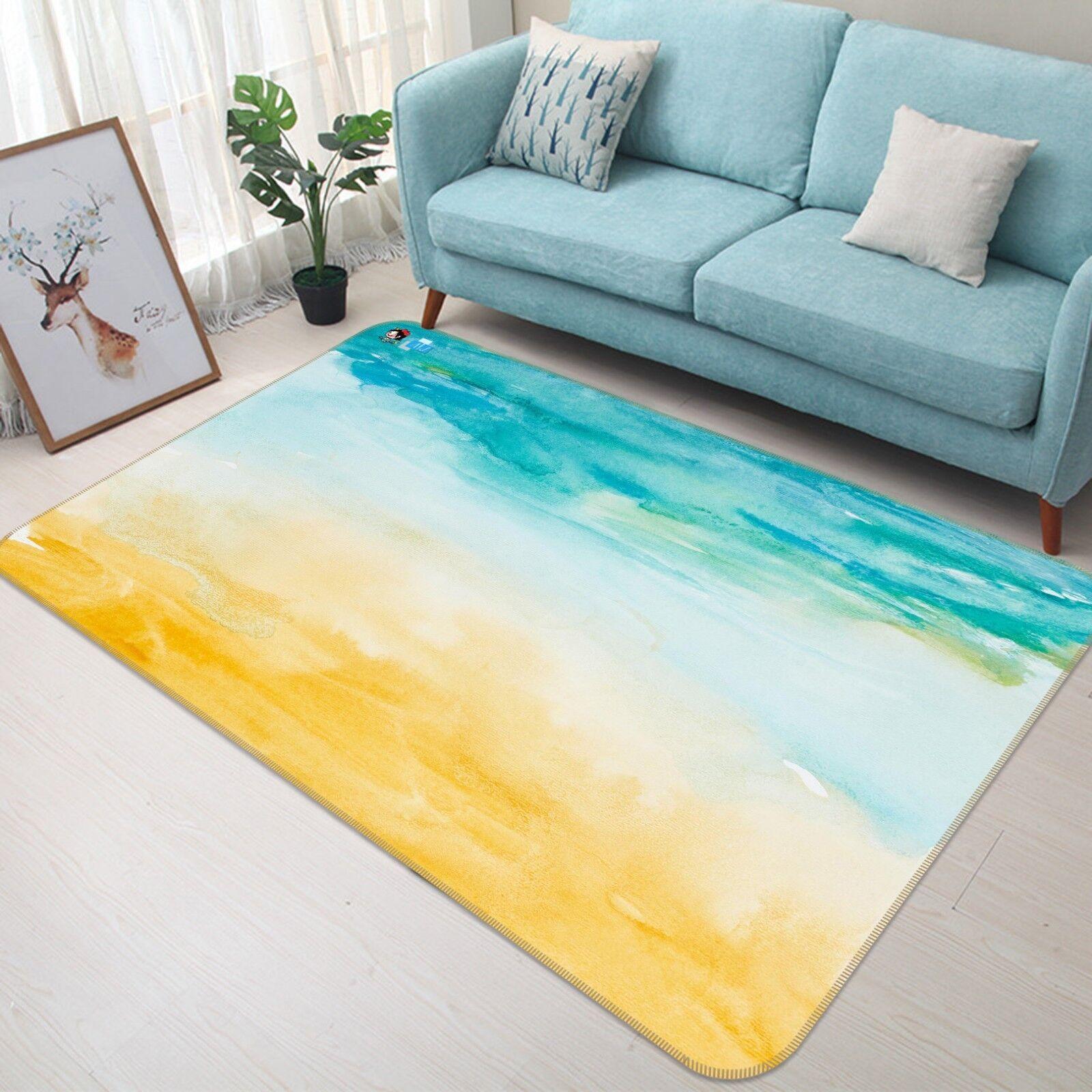 3d azul y amarillo antideslizante alfombra de maletero calidad elegante alfombra de