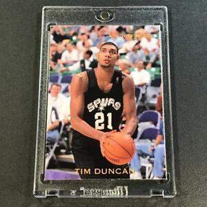 TIM-DUNCAN-1997-SKYBOX-PREMIUM-6-AND-ONE-SEALED-SEALED-INSERT-CARD-SPURS-NBA