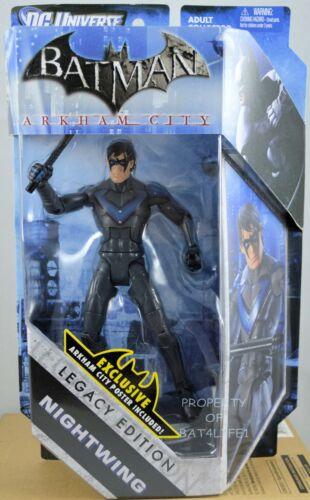 "NIGHTWING Batman Arkham City DC Legacy Edition 6/"" inch Video Game Figure!!!"