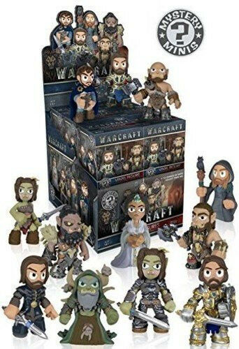 Funko World of Warcraft Movie Mystery Minis Series 1 Box (12 blind boxes)