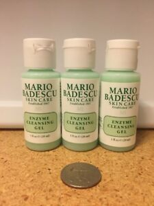Details About 3 X Mario Badescu Enzyme Cleansing Gel Face Cleanser 1 Oz 29 Ml Each