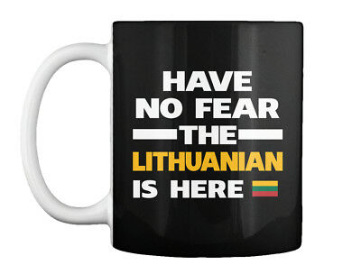 Lithuania Mug Flag Gift Chest Lithuanian Country Expat