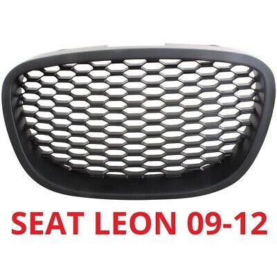 SEAT LEON 1P 09-12 FRONTGRILL KÜHLRERGRILL WABEN GRILL OHNE EMBLEM