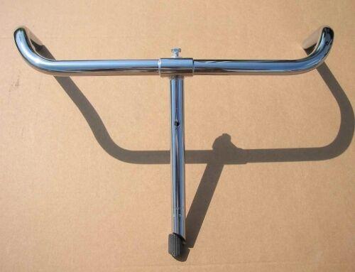Guidon Cintre de vélo ancien porteur,  L 550  avec tube de potence 22mm