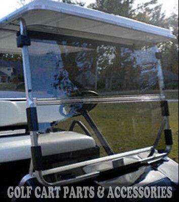 Club Car DS Clear Windshield '82-'00.5 High Quality Golf Cart Part Acrylic