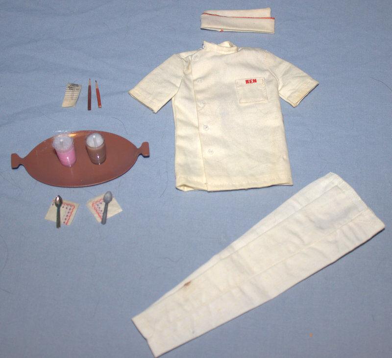 Vintage - 1964-1965 - BARBIE-KEN -  fuente Boy  - A Set Completo