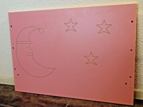 Babybett Gitterbett Kinderbett Set Komplet 70x140cm Schublade UMBAUBAR rosa weiß