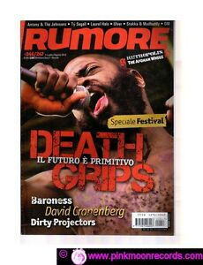 RUMORE-N-246-247-DEATH-GRIPS-BARONESS-DIRTY-PROJECTORS-ULVER-TY-SEGALL