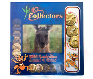 2008-YOUNG-COLLECTORS-AUSTRALIAN-ANIMALS-3-Coin-Starter-Kit