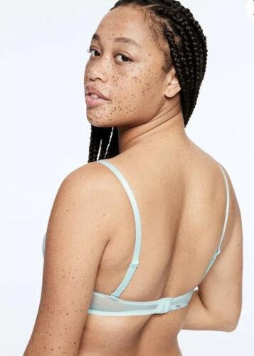 NEW Victoria/'s Secret PINK Date Push Up Bra 32 /& Panty XS Set Orange