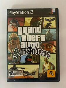 Grand Theft Auto San Andreas X Play Station 2 Used Game A07