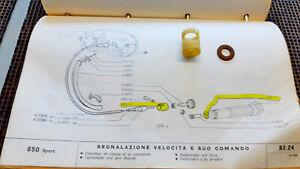 BOCCOLA  RONDELLA CAVO C/KM FIAT 850BERL-SPORT 4093113 4093115