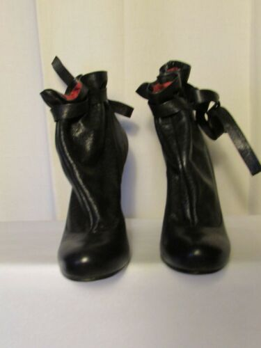 38 By Noir bottines Boots Jacobs Marc Cuir wFPqB7