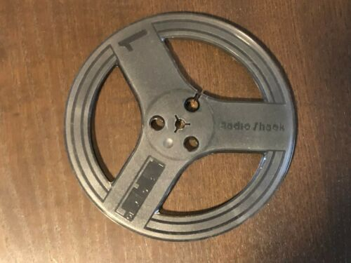 "Vintage Radio Shack 7-Inch Take-Up Reel Empty reel-to-reel Smoked Plastic 1//4/"""
