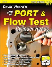 David Vizard's How to Port & Flow Test Cylinder Heads Book~NEW!