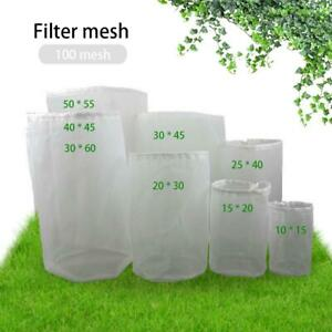 Food Grade Nylon Filter Bag For Home Brew Beer Rice Wine Juice Soybean Milk New