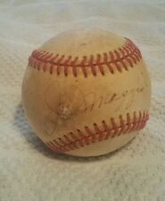 Joe Dimaggio HOF autographed signed official AL baseball YANKEES *AMAZING PRICE*