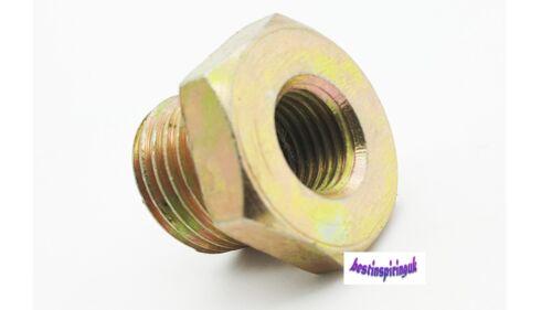 1//8NPT X 14 X 1.5 colector de aceite de latón adaptador de enchufe