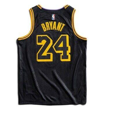 Nike Los Angeles laker Kobe Bryant black mamba city edition swingman jersey   eBay