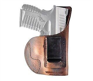 VersaCarry 3210365 Element IWB Brown Leather Sig P365//P365XL Belt clip Holster