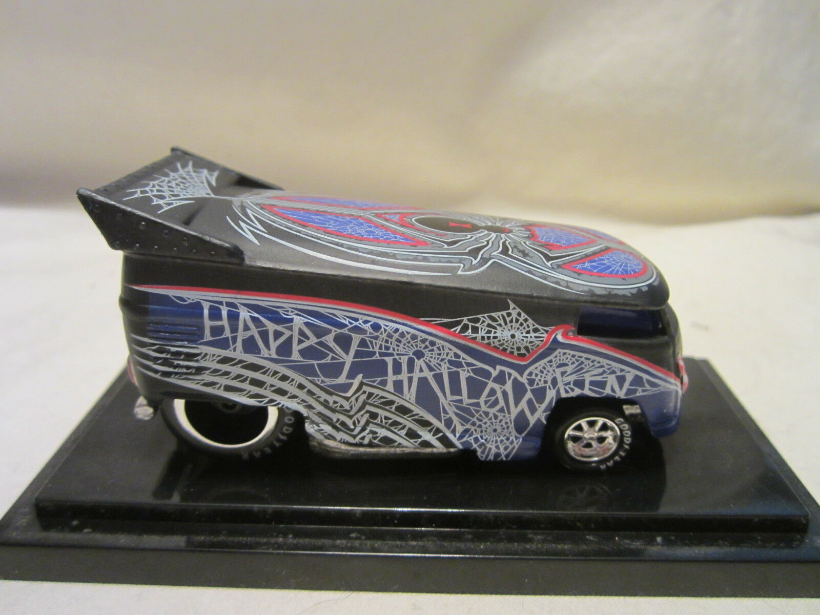 Hot Wheels Liberty Promociones Halloween nero Widow VW Drag Autobús  1000