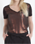 NEW-Ladies-MONSOON-Black-amp-Bronze-Sequin-Embellished-Short-Sleeve-Top-Size-8-16 thumbnail 1