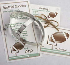 FOOTBALL ~ HELMET ~ TEXAS tin cookie cutter TRIO ~ MADE IN THE USA (NEW)