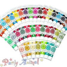 Rainbow Dust PRO-GEL Comestible juego completo de 37 Colorante Alimenticio