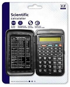 Pocket-Sized-Scientific-Calculator-Cover-Case-GCSE-Maths-A-Level-School-Office