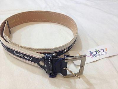 Byblos Mini Club - Cintura Bianca E Nera Con Scritta Byblos Ripetuta - 9 Mesi Bianchezza Pura