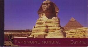 UNO-Genf-gestempelt-2005-Markenheft-MiNr-0-10-UNESCO-Welterbe-Agypten